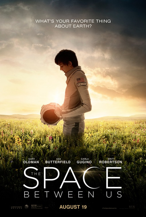 Movie Review ~ The Space Between Us « The MN Movie Man
