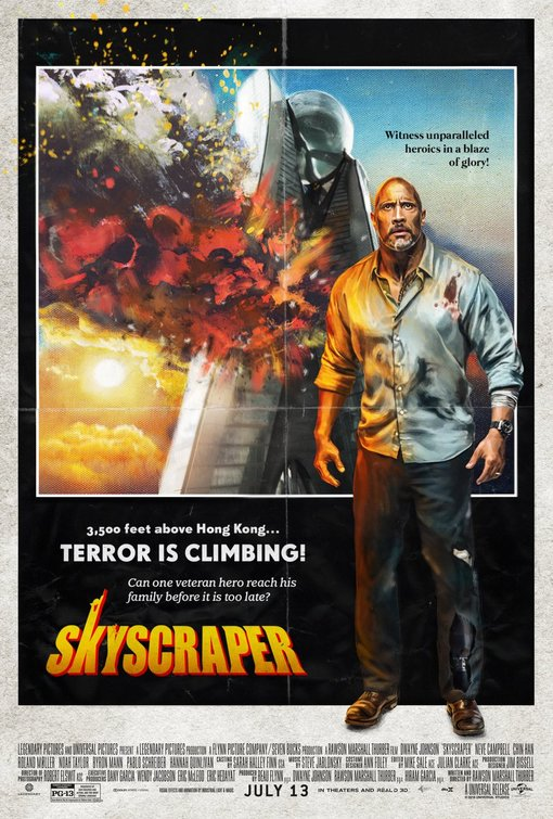 Movie Review ~ Skyscraper « The MN Movie Man