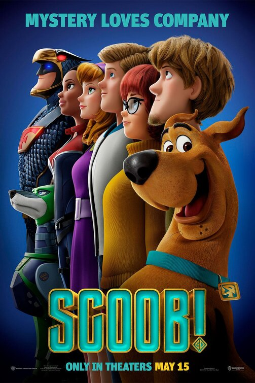 Scooby Movie 15 Plain Front Backpack